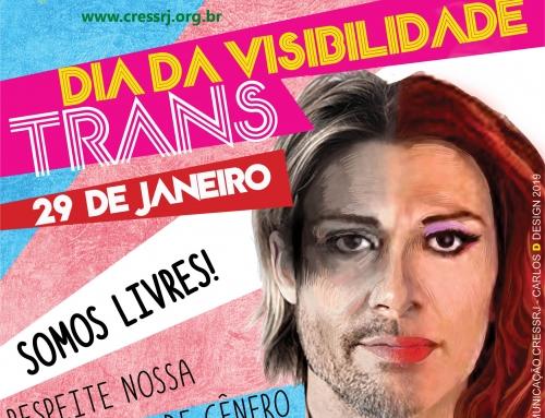 """29 de janeiro : """"Dia Nacional da Visibilidade Trans"""""""