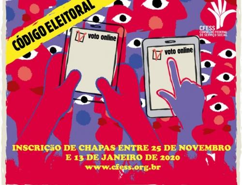 Eleições do Conjunto CFESS-CRESS – Participe !